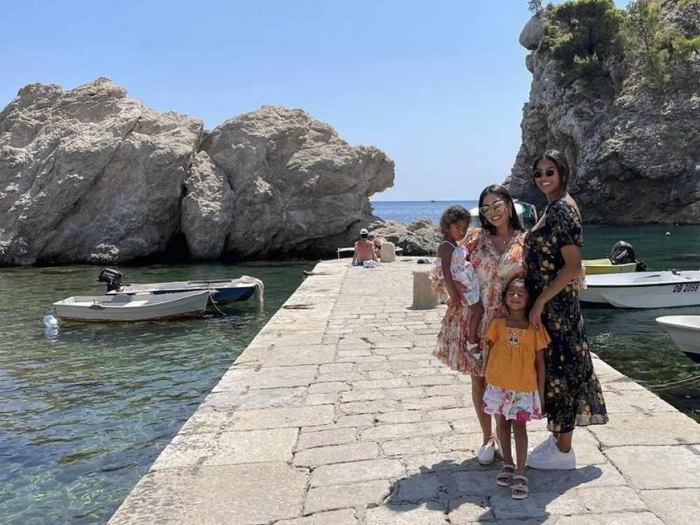 Kobe Bryant özvegye Dubrovnikban a Trónok harca nyomában